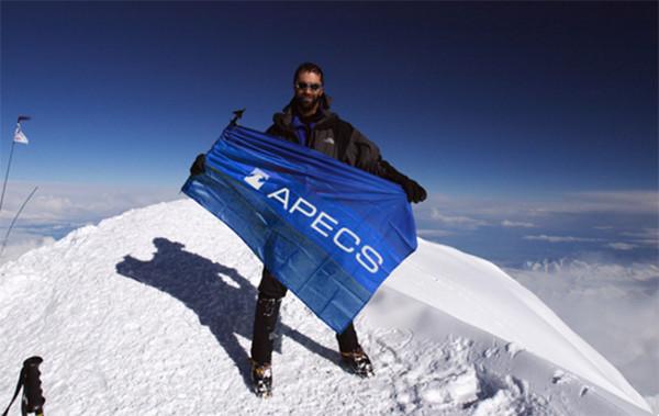 Apecs на вершине Эльбруса